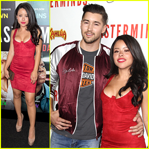 Cierra Ramirez & Jeff Wittek Couple Up For 'Masterminds' Premiere
