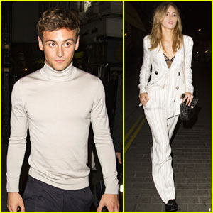Tom Daley & Suki Waterhouse Party in London