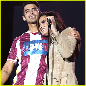 Demi Lovato Performs 'Toothbrush' with DNCE at Marriott Rewards Concert - Watch The Vid!