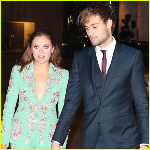 Douglas Booth & Bel Powley Hold Hands in Toronto