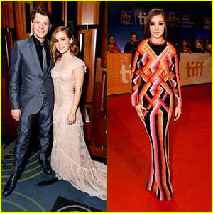 Brett Dier Supports Girlfriend Haley Lu Richardson at 'Edge of Seventeen' TIFF Premiere