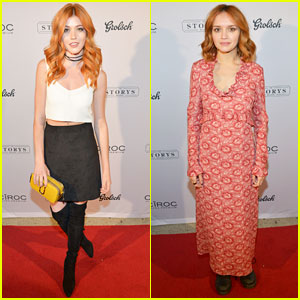 Katherine McNamara Supports 'Katie Says Goodbye' at TIFF