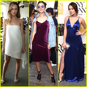 Alycia Debnam-Carey & Kelli Berglund Step Out In Style at NYFW Saturday Shows