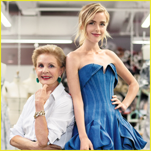 Kiernan Shipka & Carolina Herrera Team Up For THR's Top Red Carpet Designers List