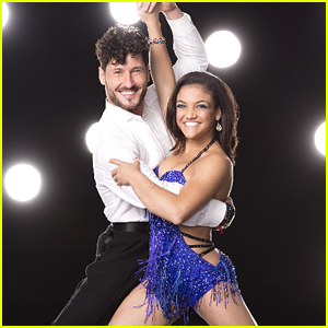 Laurie Hernandez & Val Chmerkovskiy Jive on DWTS Season 23 Week Two