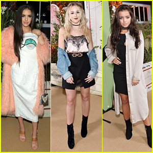 Lilimar, Chloe Lukasiak & Isabela Moner Glam Up For Teen Vogue's Young Hollywood Party