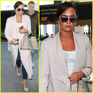 Demi Lovato Jets Off to Visit The Vatican