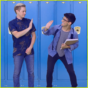 Lucas Grabeel Makes Jazz Square Cameo in Radio Disney's 'New Beginnings' Vid - Watch Now!