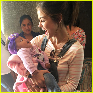Lucy Hale Travels To Mexico To Support Smile Train