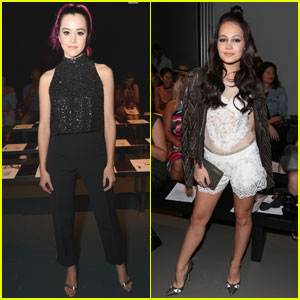 Megan Nicole & Kelli Berglund Are NYFW Beauties!