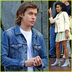 Nick Robinson Gets Filming 'Everything Everything' With Amandla Stenberg
