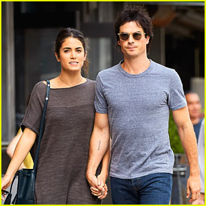 Ian Somerhalder & Nikki Reed Hold Hands in NYC!