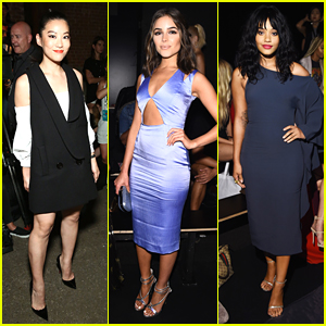 Arden Cho, Skyler Samuels & Olivia Culpo Hit The Friday Fashion Shows at NYFW
