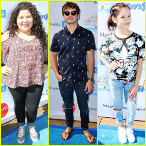 Raini Rodriguez & Jack Griffo Party on the Pier With Mattel