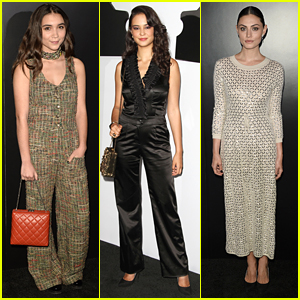Rowan Blanchard & Courtney Eaton Step Out For Chanel's Fashion Dinner in LA