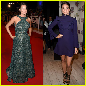 Shailene Woodley Wears Two Chic Looks for 'Snowden' TIFF Premiere!