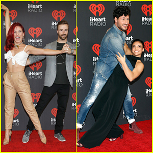 Sharna Burgess & Val Chmerkovskiy Bring DWTS Partners To iHeartRadio Music Festival 2016