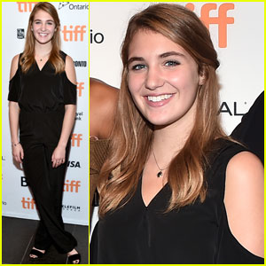 Rising Star Sophie Nelisse Steps Out at Toronto Film Festival 2016