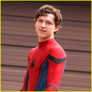 Tom Holland Hits the Streets Filming 'Spider-Man: Homecoming'