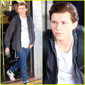 Tom Holland Takes 'Spider-Man: Homecoming' to New York City!