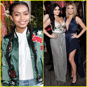 Yara Shahidi, Sarah Hyland & Ariel Winter Hit Teen Vogue's Young Hollywood Party in Malibu