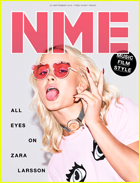 Zara Larsson Opens Up About The Subjects of Her Songs with NME Mag