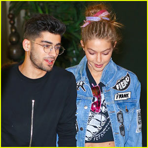 Gigi Hadid & Zayn Malik Jet Out of New York After Fashon Week!