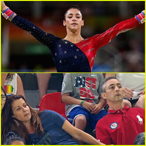 Aly Raisman Immortalizes Squirmy Parents Meme in Socks!
