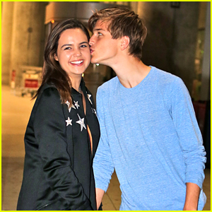 Bailee Madison Kisses Alex Lange Upon Toronto Airport Arrival