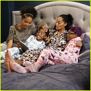 The Kids Spend Time With Bow Before New Baby Arrives on 'black-ish'