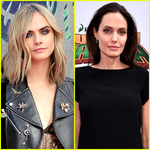 Cara Delevingne Shares Her Support For Angelina Jolie in Sweet Instagram Post