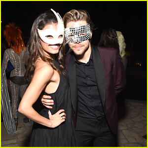 Derek Hough & Hayley Erbert Nail Their Couple's Costume For Halloween