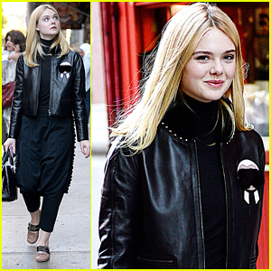 Elle Fanning Walks The New York City Streets Ahead of '20th Century Women' NYFF Premiere
