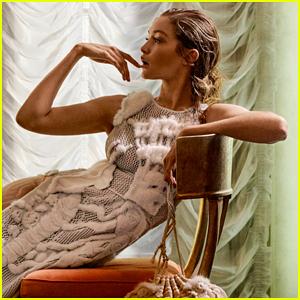 Gigi Hadid Rocks Fendi For 'Harper�s BAZAAR'!