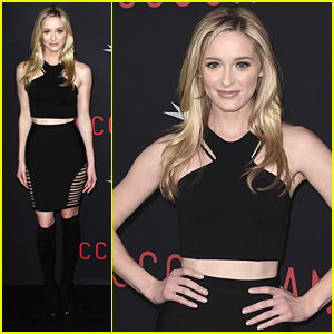 Greer Grammer & Boyfriend Tyler Konney Dine Out After 'The Accountant' Premiere