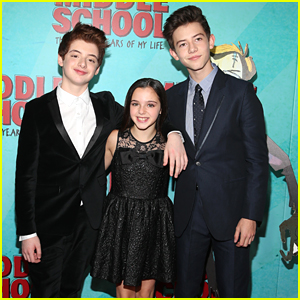 Thomas Barbusca & Griffin Gluck Premiere 'Middle School' In NYC with Alexa Nisenson