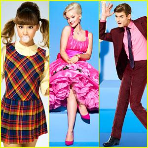 Dove Cameron, Ariana Grande & Garrett Clayton Bust a Move in 'Hairspray Live!' Cast Photos!