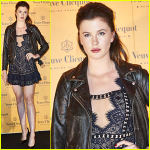 Ireland Baldwin Steps Out for Veuve Clicquot 'Yelloween' Party in Spain