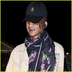 Jaden Smith Wears a Mask & Grill for Kanye West's L.A. Show