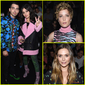 Joe Jonas & Charli XCX Hang Out at Kenzo x H&M Event!