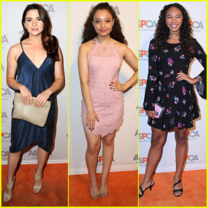 Katie Stevens Joins Stuck In The Middle's Kayla Maisonet as ASPCA Benefit in LA