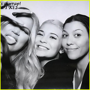 Kylie Jenner Celebrates 'KUWTK' Season 12 Wrap With Kourtney & Khloe Kardashian