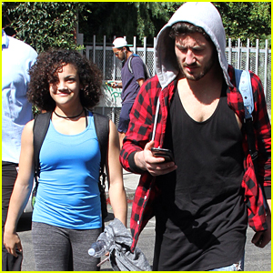 Laurie Hernandez Shows Off Her Natural Curly Hair For DWTS Practice