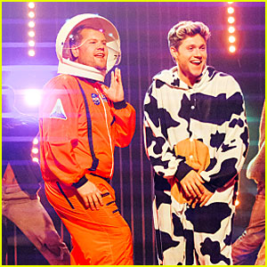 Niall Horan Makes a Halloween Music Video with James Corden!