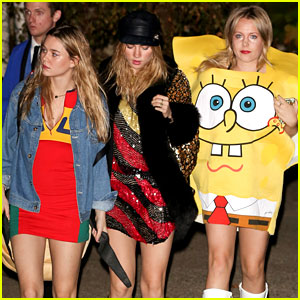 Suki Waterhouse Enjoys Sister Time with Immy for Halloween!