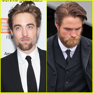 Robert Pattinson Calls His Beard 'Disgusting'