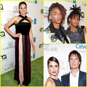 Shailene Woodley & Jaden Smith Honored at Environmental Media EMA Awards!