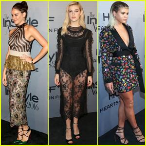 Shailene Woodley, Nicola Peltz & Sofia Richie Step Out at InStyle Awards