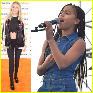Jordyn Jones & Asia Monet Ray Perform at Skechers Pier To Pier Friendship Walk - See The Pics!