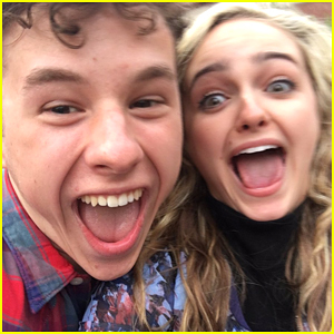 Sophie Reynolds Shares Funny Photos of Nolan Gould For His Birthday